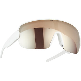 POC Aim Gafas de Sol, blanco/Plateado